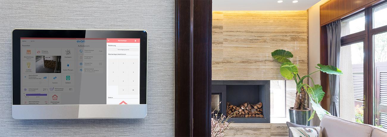 Sicherheit evon Smart Home