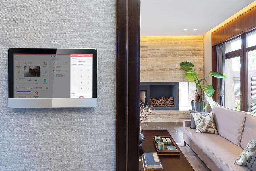 Sicherheit mit evon Smart Home_mobile